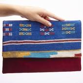 COLABORACION MINZHA & QUEKUCO Bolsos hecho con amor combinando tejidos marroquíes y ante o polipiel. Piezas únicas diseñadas con una  mezcla de elegancia y frescura. ♥️♥️♥️  #colaboraciones #bolsos #bags #complementos #madewithlove #original #winter #regalos #gift